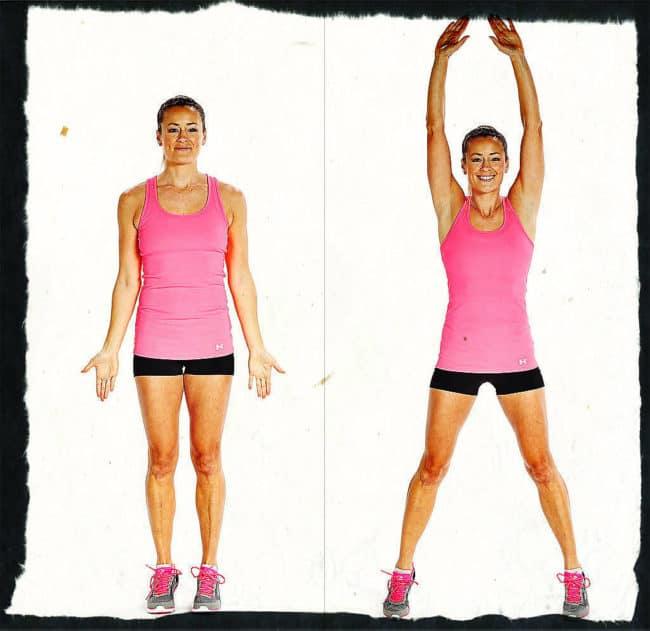 Джампинг джек - упражнение