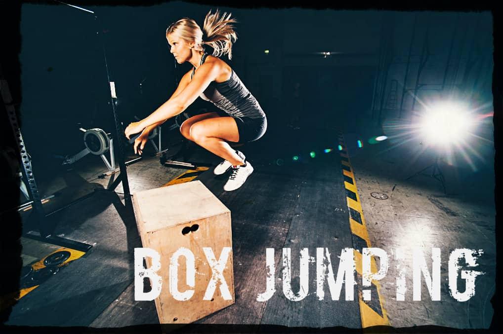Прыжки на тумбу в кроссфите