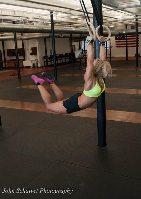 Кроссфит для девушек для гибкости тела
