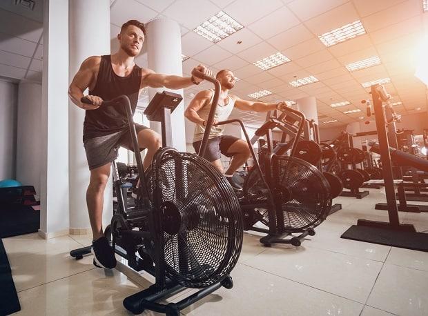 Кардио на велотренажере