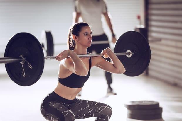 Техника упражнения фронтальные приседания