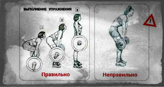 Становая тяга - техника