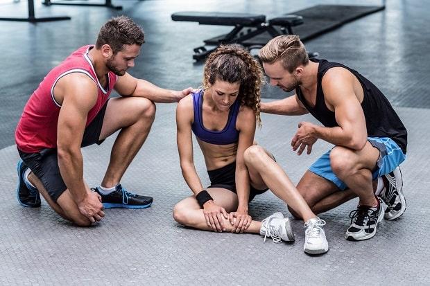 Травмирование ноги на кроссфите