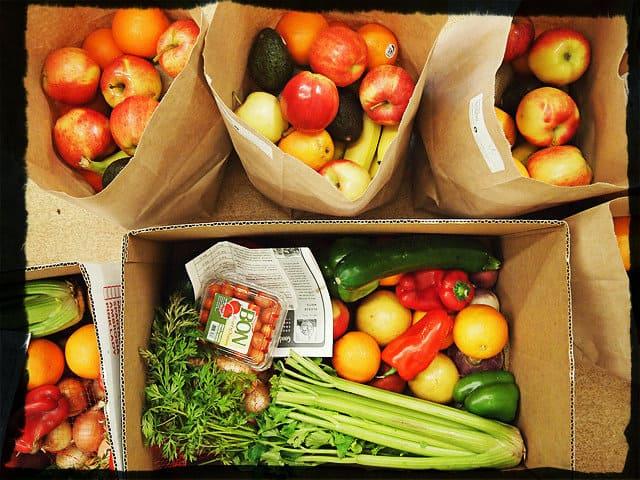 Здоровое питание - овощи