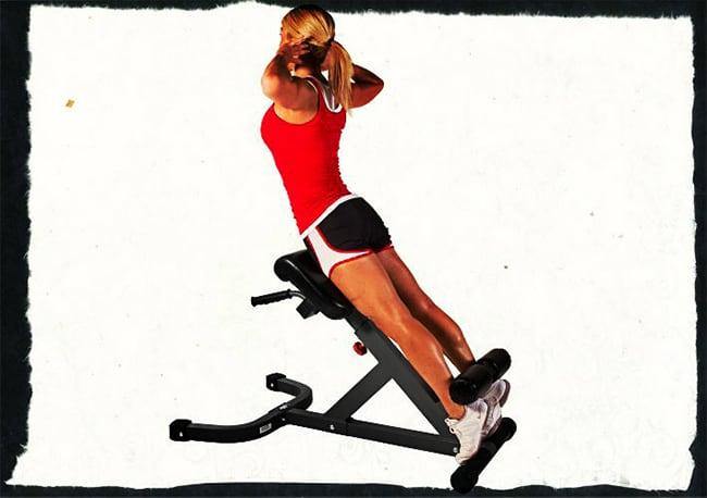 Гиперэкстензия техника выполнения упражнения