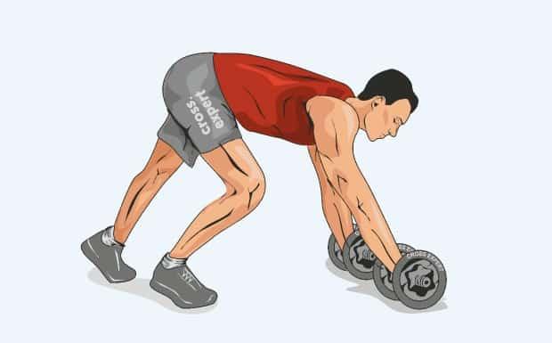 Вариант упражнения с отягощением