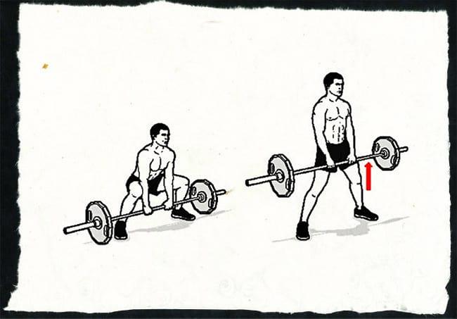 Техника выполнения становой тяги сумо