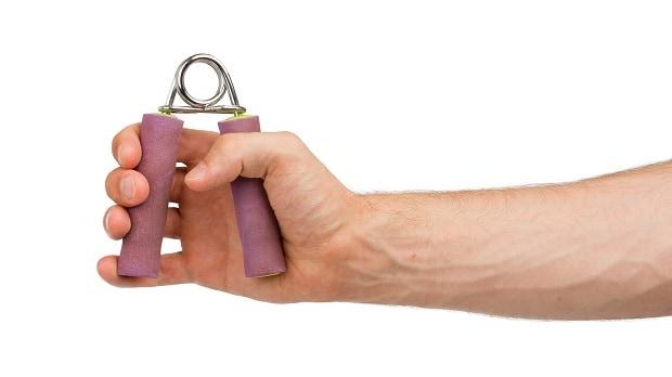 Упражнение для кистей с эспандером
