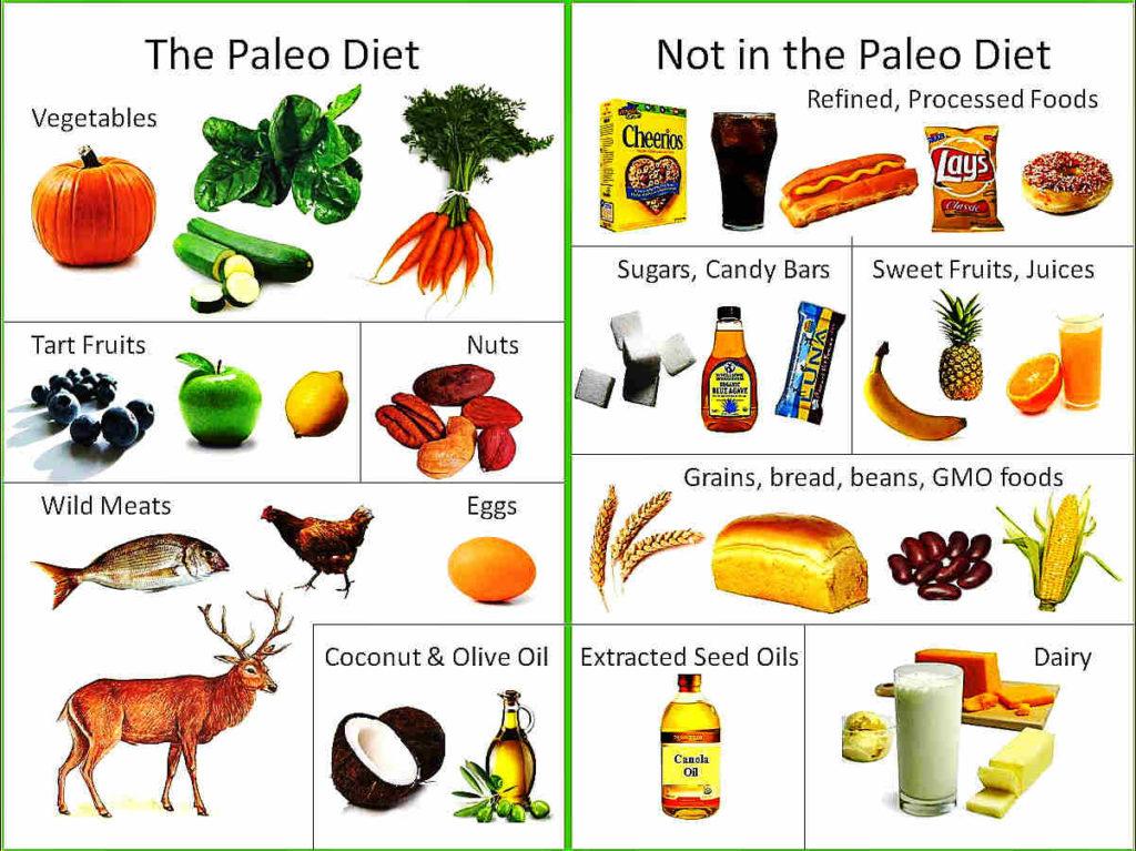 Продукты палео диеты