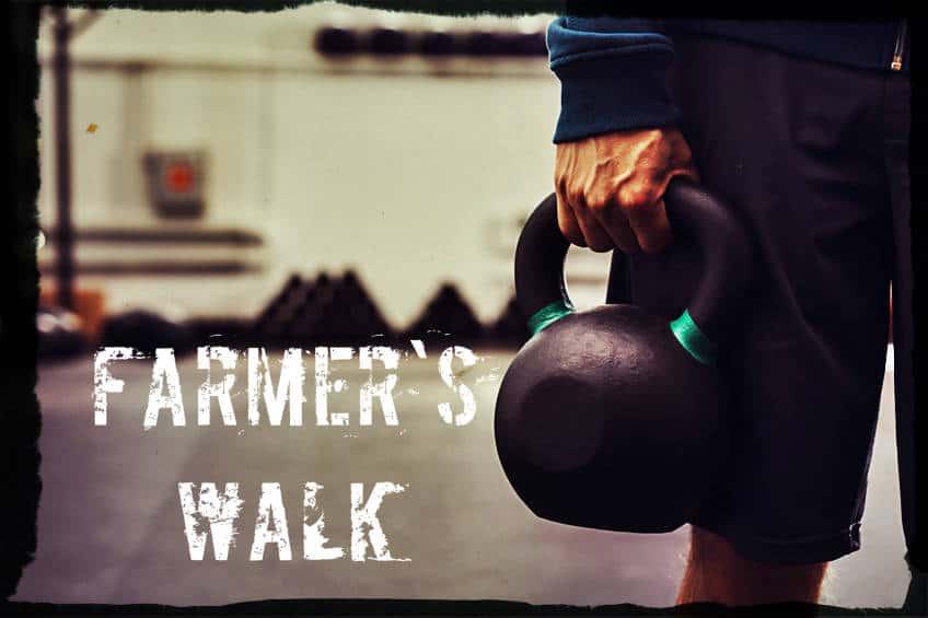 Походка фермера кроссфит упражнение