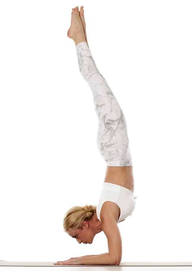 Упражнение стойка на предплечьях