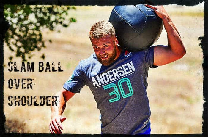 Бросок мяча через плечо