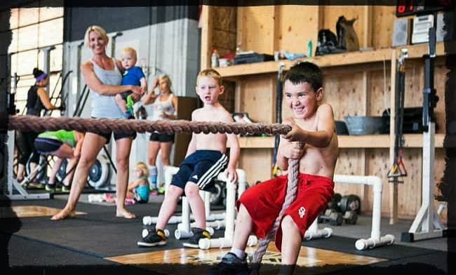 Кроссфит соревнования среди детей