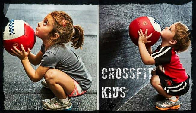 Кроссфит упражнения для детей