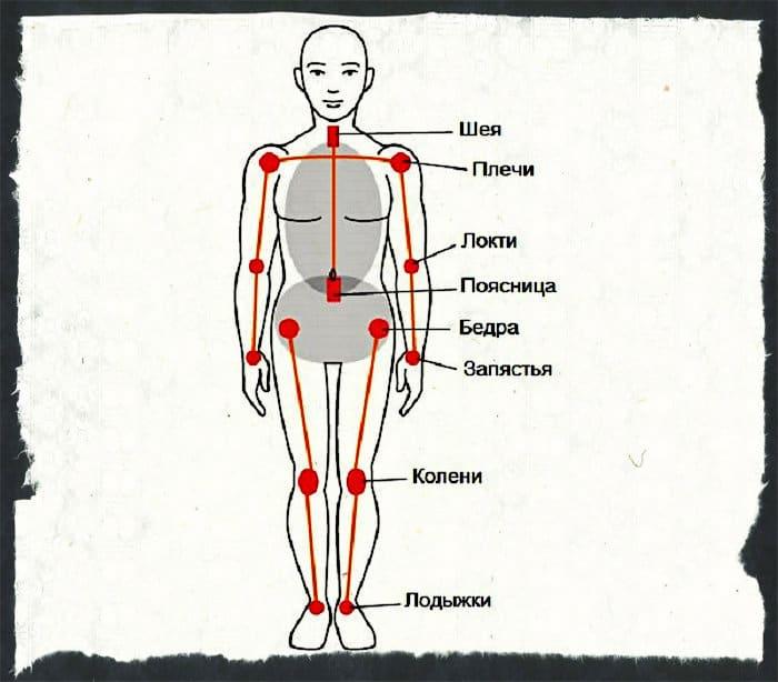 Основные суставы