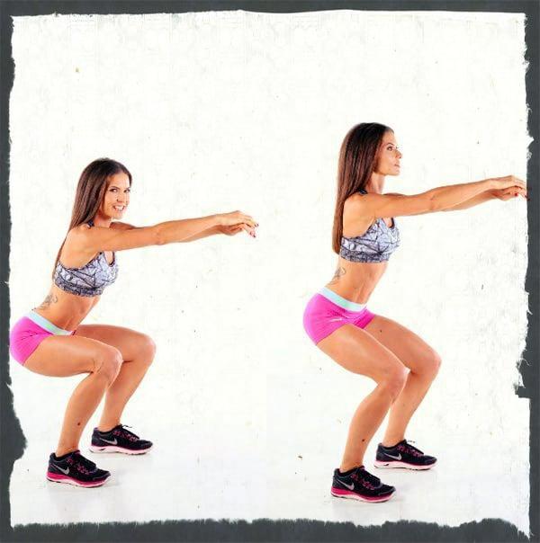 Упражнение на мышцы спины в домашних условиях