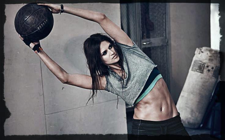 Упражнения для женщин на косые мышцы живота