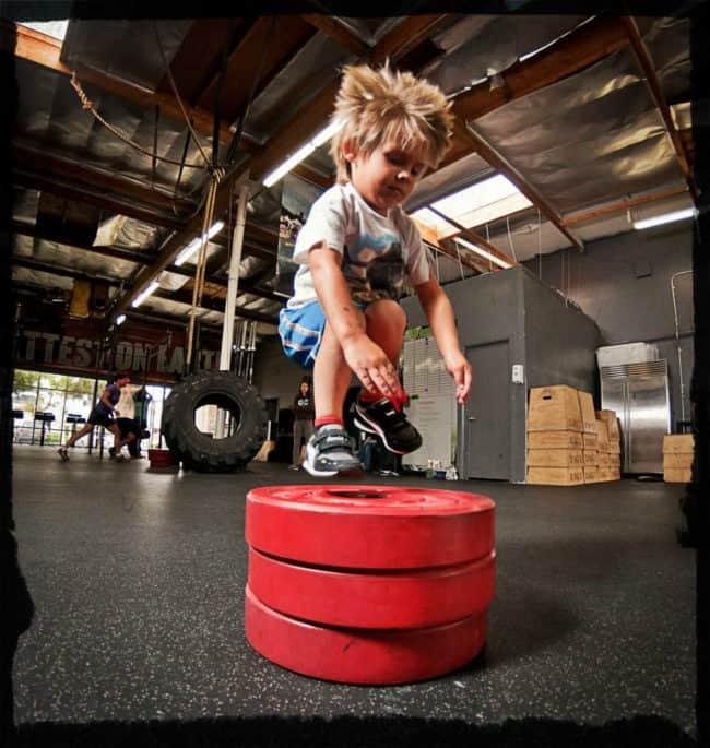 Упражнения кроссфит для детей