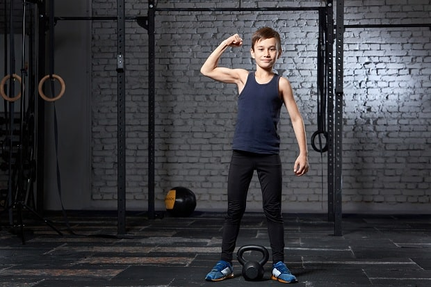 Кроссфит-упражнение для детей 11 лет
