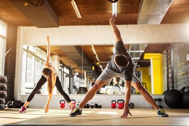 Разминка перед кроссфит-тренировкой