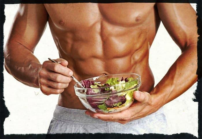 Питание во время сушки тела