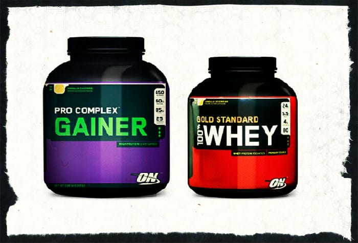 Протеин и гейнер