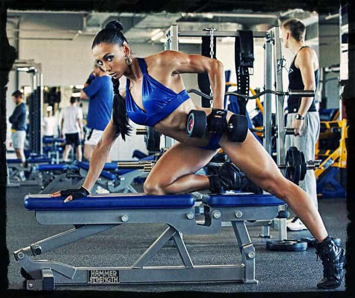 упражнения при сушке тела для девушек