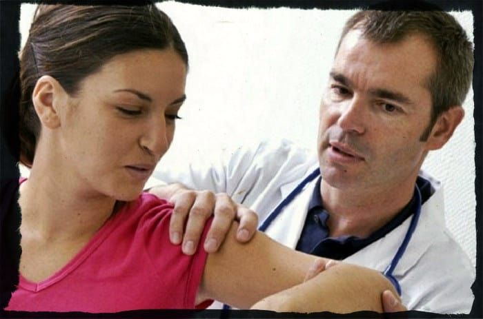 Лечение травмы плеча