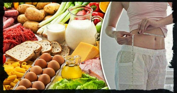 Рекомендованные продукты при диете