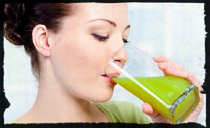 Питьевая диета на соках