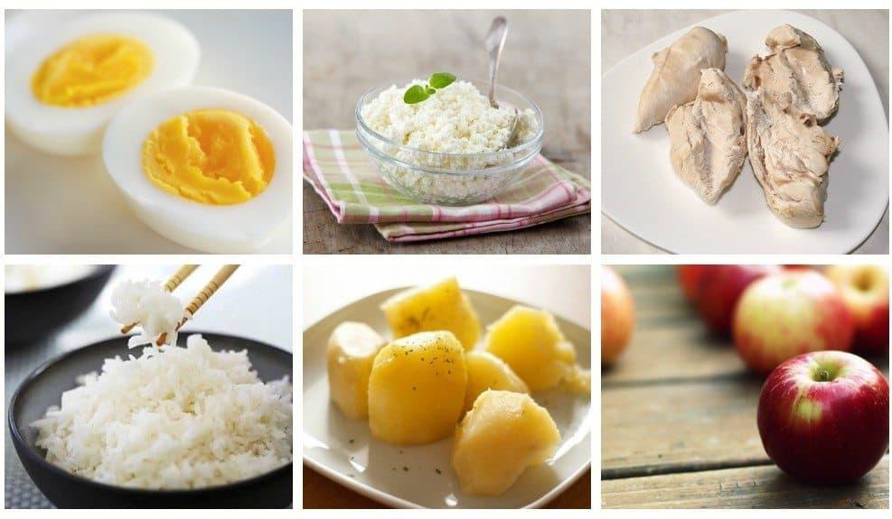 Различные варианты японской диеты