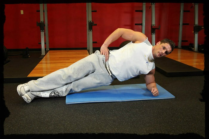 Тренировка косых мышц