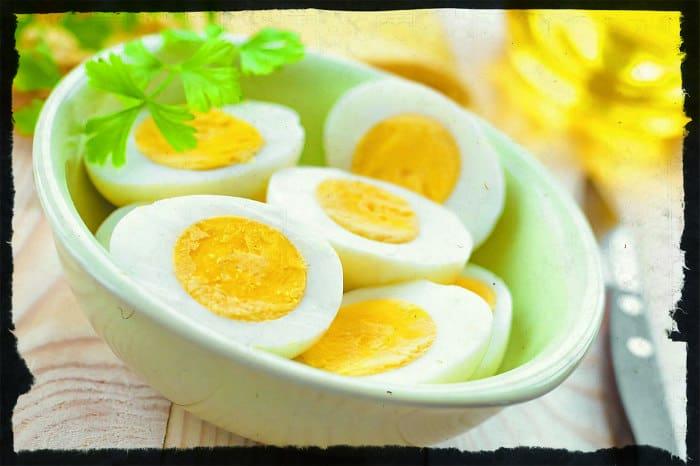 Подробная яичная диета