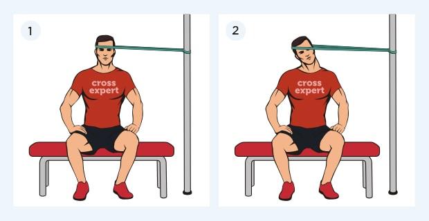 тренировка шеи с петлями