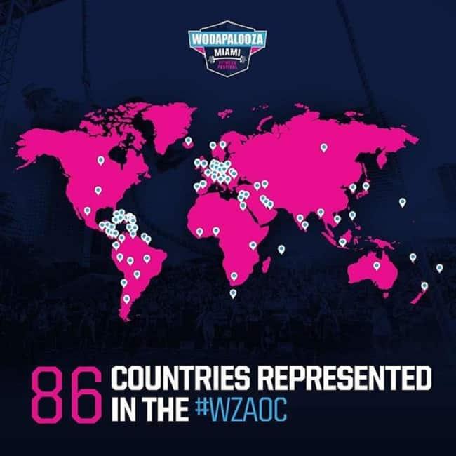 География соревнований