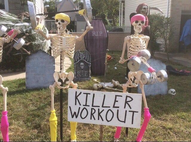 Хэллоуин в кроссфит-клубах