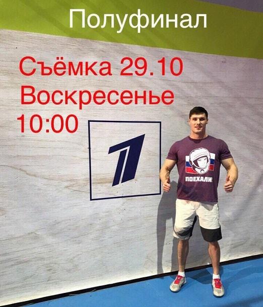 Сергей Колтовской на шоу Ниндзя