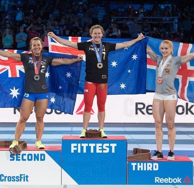 Топ 3 сильнейших женщин СrossFit 2017