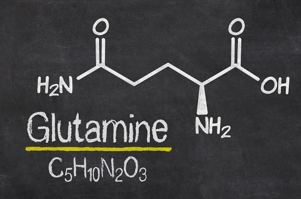 Формула глютамина