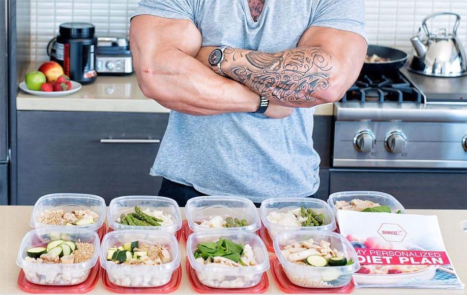 правильное питание набор веса
