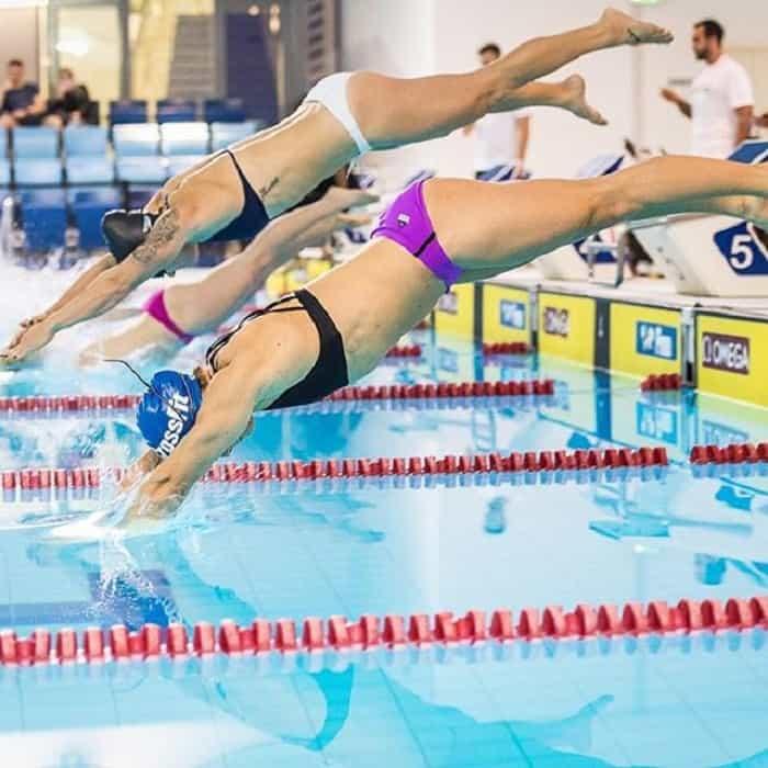 Плавание на Dubai Fitness Championship 2017