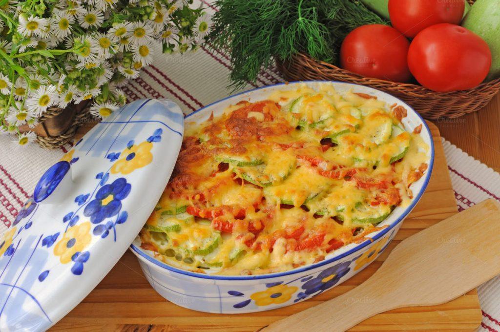 Сытный и полезный ужин при раздельном питании