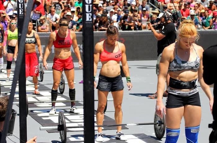 Женщины атлеты