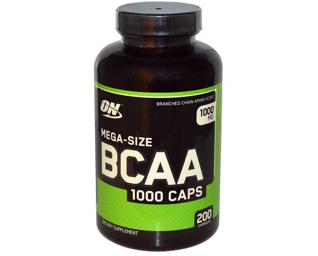 BCAA в капсулах от Optimum Nutrition