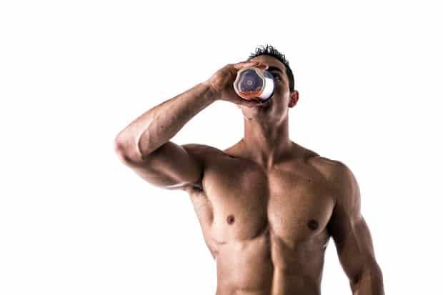 Прием протеина для массы