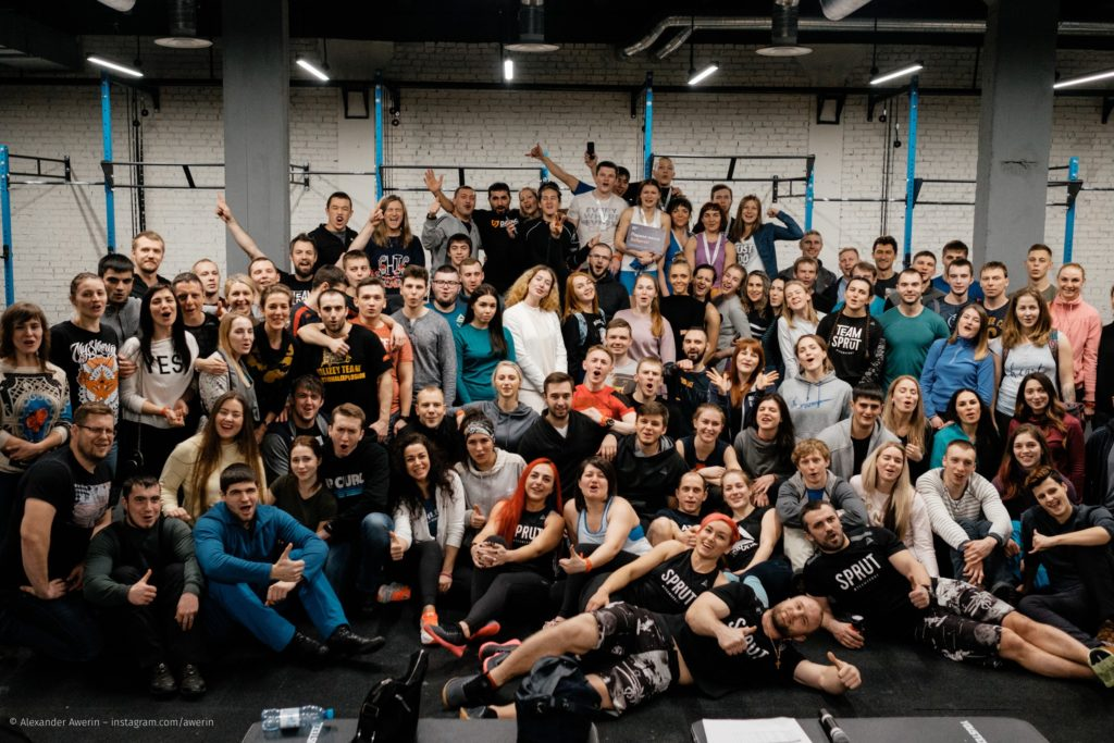 Открытие зала в Красноярске