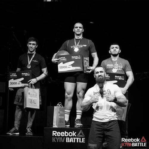 Победители Reebok Kiev Battle 2017
