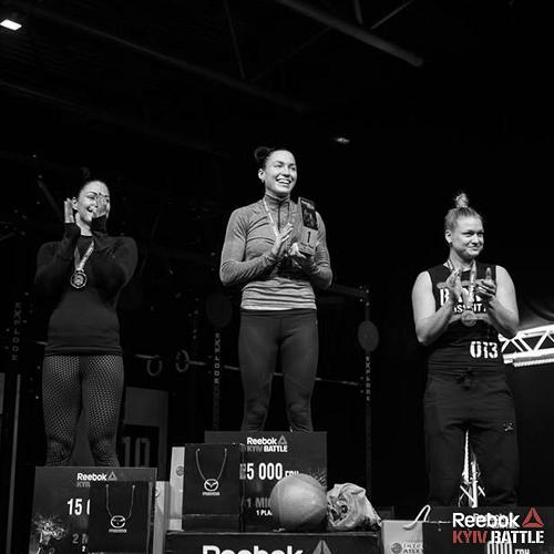 Победители Reebok Kiev Battle 2017 среди девушек