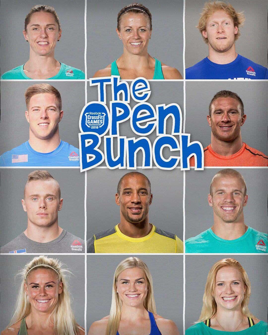Атлеты, которые будут представлять комплексы Open