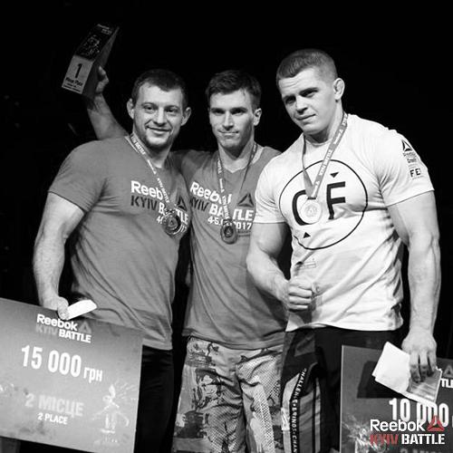 Победители Reebok Kiev Battle 2017 среди профи